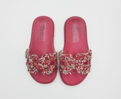 FASHION Girls Slippers (MAROON) (24 to 29)
