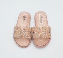 FASHION Girls Slippers (LIGHT PINK) (24 to 29)