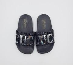 CUCI Girls Slippers (BLACK) (24 to 29)