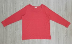 JANINA Ladies Long Sleeved Shirt (RED) (46 to 58 EUR)