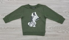 NEXT Boys Long Sleeved Shirt (GREEN) (3 Months to 7 years)