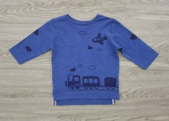 NEXT Boys Long Sleeved Shirt (BLUE) (3 Months to 7 years)
