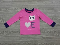 NIGHT NIGHT Girls T-Shirt (PINK) (1 to 10 Years)