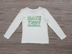 ALL BASICS Girls T-Shirt (LIGHT GREEN) (10 to 16 Years)