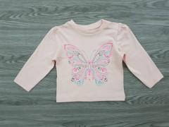 ALL BASICS Girls T-Shirt (LIGHT PINK) (12 to 6 Years)