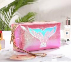 Makeup Bag (PINK) (OS)