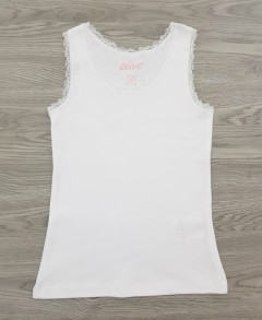 ALIVE Girls Top (WHITE) (122 to 152 CM)