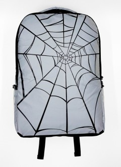 FASHION Back Pack (GRAY- BLACK) (FREE SIZE)