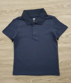 H & M Back Polo T-Shirt (NAVY) (1.5 to 10 Years)
