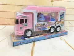 Ice Cream Truck (PINK) (31 × 10.5 × 16 CM)