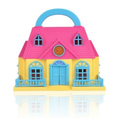 Mini Doll House (MULTI COLOR) (215 × 130 × 205 MM)