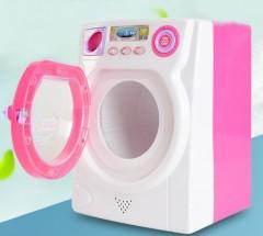 Washing Machine Toy (WHITE - PINK) (18.5×14×13 cm)