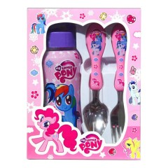 Spoon And Fork Pony Set (PINK) (ONE SIZE)