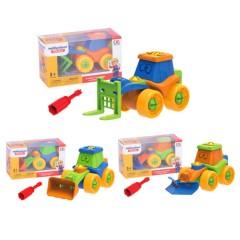 Truck Multifunct Toys (YELLOW) (7 × 9 × 16 CM)