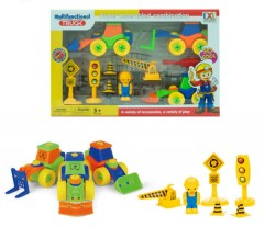 Truck Multifunct And Super Assembled Combination Toys (As Photo) (8 × 23 × 35.5 CM)