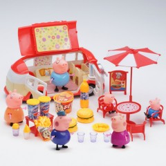 GOOD Ice Cream Food Truck (RED) (30.5×14.5×23 CM)