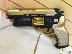 Kids Toy Gun (BLACK-GOLD) (25 × 16 CM)