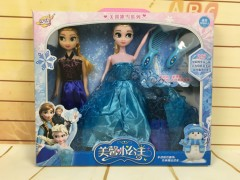 Frozen Doll(BLUE-BLACK) (35 × 4.5 × 30.5 CM)
