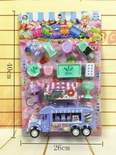 Ice Cream & Candi Truck Toys Pack (PURPLE) (26 × 40 CM)