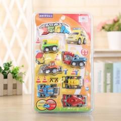 6 Pcs Set Car Toys (AS PHOTO)  (ONE SIZE)