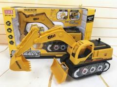 Bulldozer Toy (YELLOW) (31 × 9 ×19 CM)