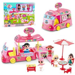 Ice Cream & Food Truck (PINK) (ONE SIZE )