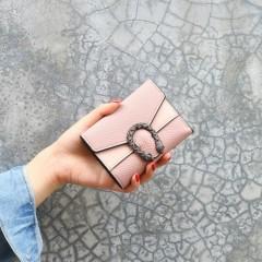 Ladies Wallet (PINK) (FREE SIZE)