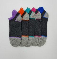 PROELITE Ladies Socks 5 Pcs Pack (AS PHOTO) (ONE SIZE)