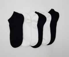 FITTER FIT FOR ME Ladies Sports Socks 6 Pcs Pack (BLACK - WHITE) (ONE SIZE)