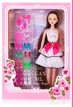 Barbie Toys (WHITE) (One Size)