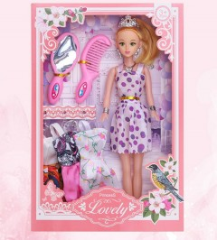 Barbie Toys (PURPLE) (One Size)