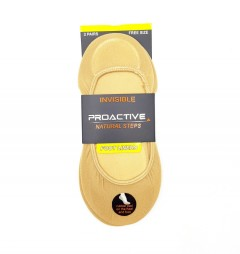 PROACTIVE Ladies Foot Liners (CREAM) (FREE SIZE)
