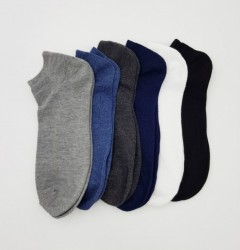 FITTER Mens Sports Socks 6 Pcs Pack (AS PHOTO) (FREE SIZE)