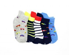 TOM AND DAISY Boys Socks 5 Pcs (AS PHOTO) (0 to 36 Months)