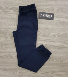 AMERCA PERRY ELLIS Boys Pants (NAVY) (4 to 16 Years)