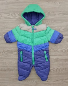 LILY - JACK Boys Ramper Jacket Hooded Jumpsuite (MULTI COLOR) (NewBorn to 12 Months)