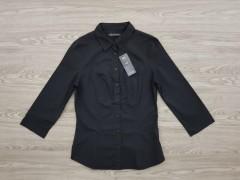 M&S Mens Shirt (BLACK) (6 to 16 UK)