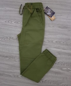 STRETCH Mens Pants (GREEN) (S - L - XL)