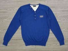 IDENTIC Mens Sweater (BLUE) (S - M - L - XL - XXL)