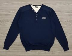 IDENTIC Mens Sweater (NAVY) (L - XL - XXL)