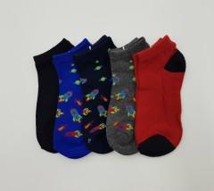 BAROTTI Boys Socks 1 X5 Paks (RANDOM COLOR) (3 to 11 Years)