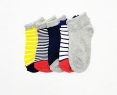 BAROTTI Boys Socks 5 Pcs Pack (AS PHOTO) (5 to 9                Years)