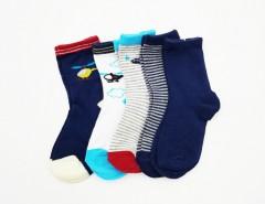 BAROTTI Boys Socks 5 Pcs Pack (RANDOM COLOUR) (24 to 36 Months)