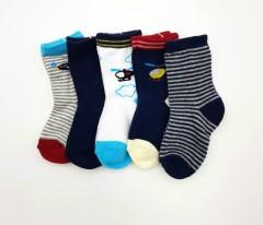 BAROTTI Boys Socks 5 Pcs Pack (RANDOM COLOR) (6 to 12 Month)