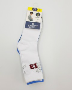 BAROTTI Boys Socks 5 Pcs Pack (AS PHOTO) (7 to 9 Years)