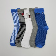 BAROTTI Boys Socks 5 Pcs Pack (AS PHOTO) (9 to 11 Years)
