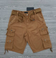 STEUE JEANS Mens Cargo Shorty (BROWN) (32 to 38 EURO)