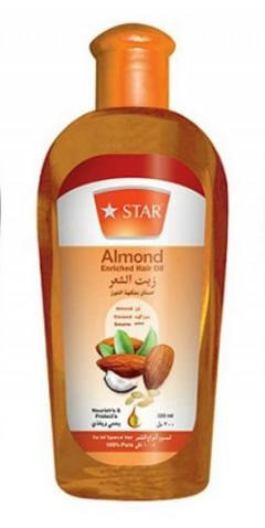 Star Almond Enriched Hair Oil(200ml) (MA)