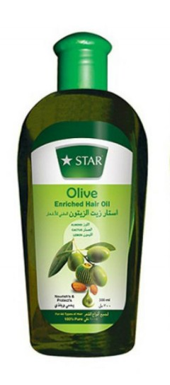 Star Olive Enriched Hair Oil(200ml) (MA)