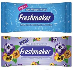 FreshMaker Wet Wipes (Random Color) (MA)